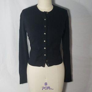 RALPH LAUREN Purple Label cardigan sweater